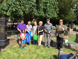 The friends at the Lye and Wollescote Cemetery